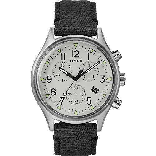 Timex Herren Chronograph Quarz Uhr mit Nylon Armband TW2R68800