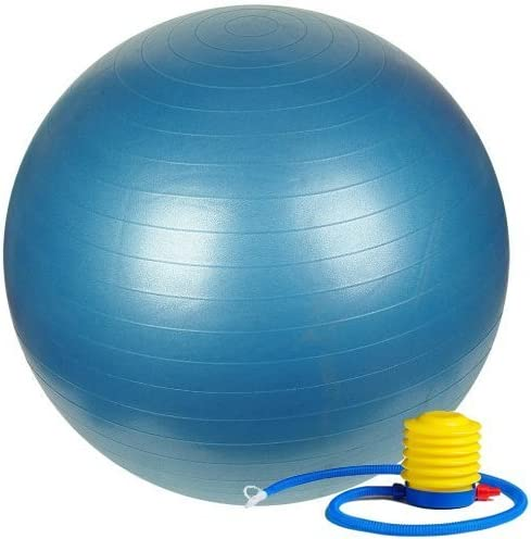 75cm Exercise Ball with Foot Discount shop mail order Includes Pump - 1 fo