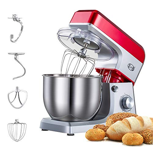 Electric Mixer Lower Noise with 7L Bowl By Thehouseuse
