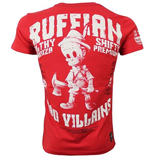 Yakuza Premium Herren T-Shirt 2817 rot