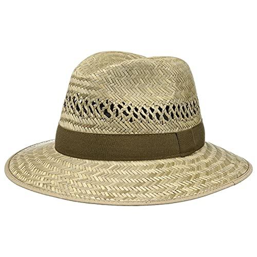 Chapeaushop Chapeau Traveller Récolte Chapeau de Soleil Chapeau pour Homme (55 cm - Nature)