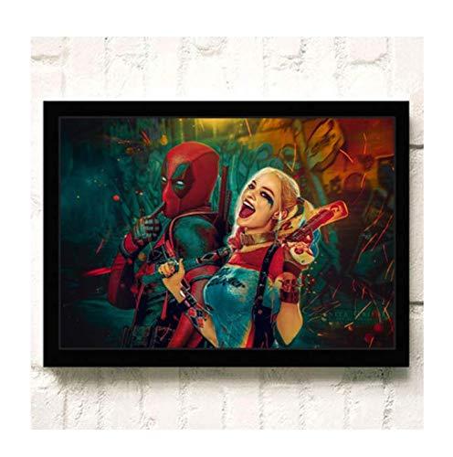 H/E Suicide Squad Poster Canvas Painting Home Decoration Rahmenlos 40X60Cmy2360