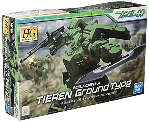 HG 機動戦士ガンダム00 ティエレン(地上型) 1/144スケール 色分け済みプラモデル