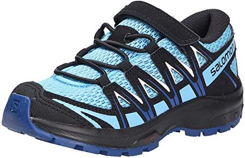 Salomon XA Pro 3D Kids unisex-niños Zapatos de trail running, Azul (Ethereal Blue/Surf The Web/White), 27 EU