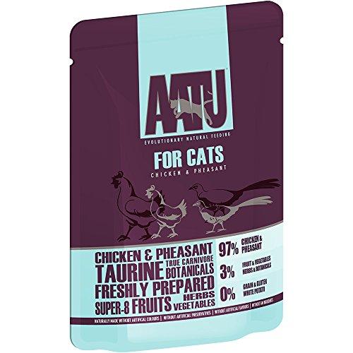 AATU Nasses Katzenfutter Huhn mit Fasan, 86.2 g