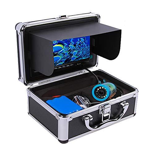 BYBYC 1000TVL buscador de los Pescados bajo el Agua del Hielo Pesca cámara de vídeo de la cámara subacuática de la lámpara infrarroja de la Lupa de Pesca en el Hielo
