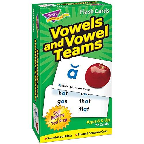 TREND enterprises, Inc. Vowels & Vowel Teams Skill Drill Flash Cards