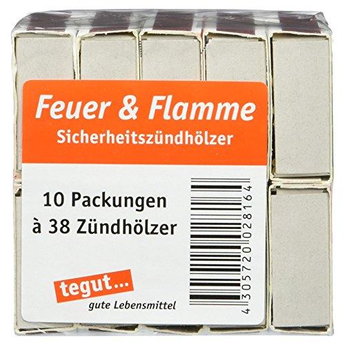 Feuer und Flamme -   Streichhölzer, 10