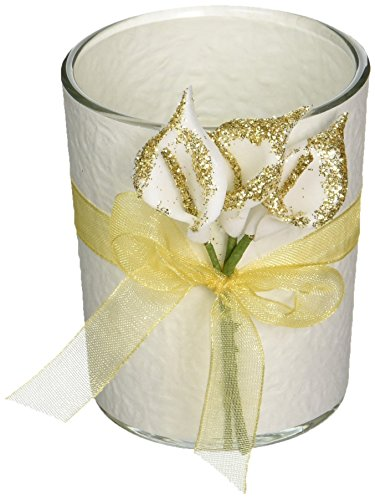 Fashioncraft Gold Calla Lily Design Votive Candle Holder