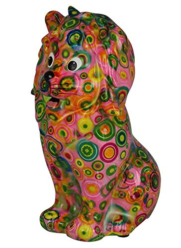 Pomme Pidou Hucha Leo   Hucha león Original cerámica