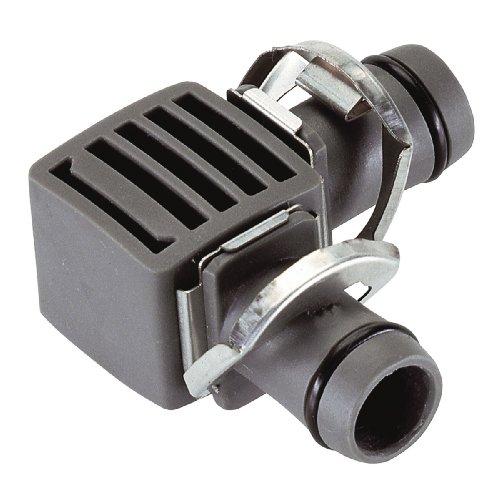 Gardena Micro-Drip-System L-Stück 13mm (1/2 Zoll): Rohrverbinder für eine Richtungsänderung des Verlegerohres (Art.-Nr. 1347, 1346), 2 Stück (8382-20)