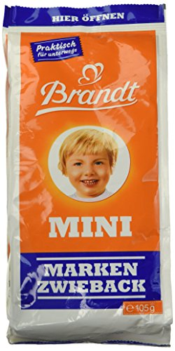 Brandt Mini-Zwieback Klassik, 105 g