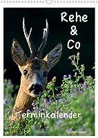 Rehe & Co / Planer (Wandkalender 2022 DIN A3 hoch): Wildlife Ruegen / Deutschland (Planer, 14 Seiten )