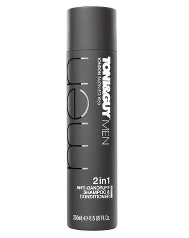 チューインガム押し下げる福祉Toni&Guy Men Anti-dandruff shampoo & conditioner 250ml - トニ&男男性のフケ防止シャンプー&コンディショナー250ミリリットル (Toni & Guy) [並行輸入品]