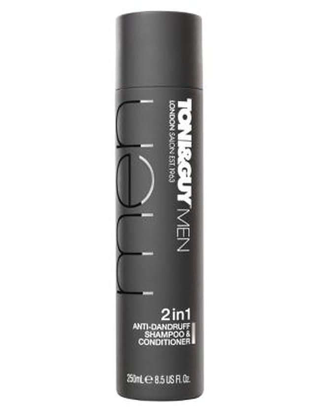 おじさん恒久的ハブブトニ&男男性のフケ防止シャンプー&コンディショナー250ミリリットル (Toni & Guy) (x2) - Toni&Guy Men Anti-dandruff shampoo & conditioner 250ml (Pack of 2) [並行輸入品]