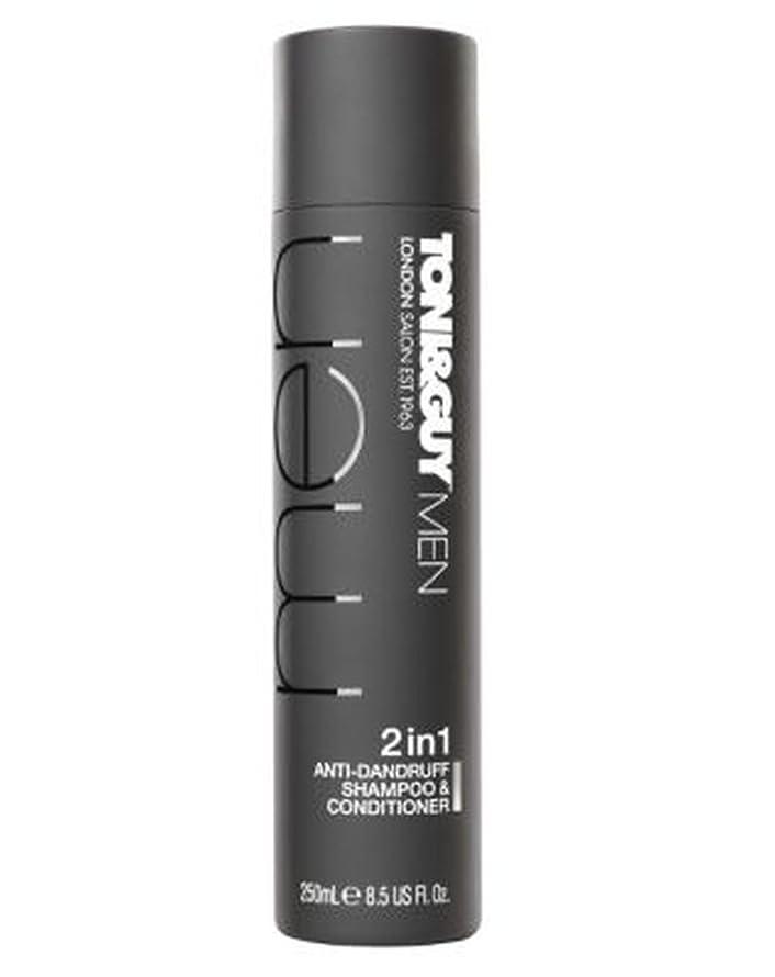 エーカー温度計津波トニ&男男性のフケ防止シャンプー&コンディショナー250ミリリットル (Toni & Guy) (x2) - Toni&Guy Men Anti-dandruff shampoo & conditioner 250ml (Pack of 2) [並行輸入品]