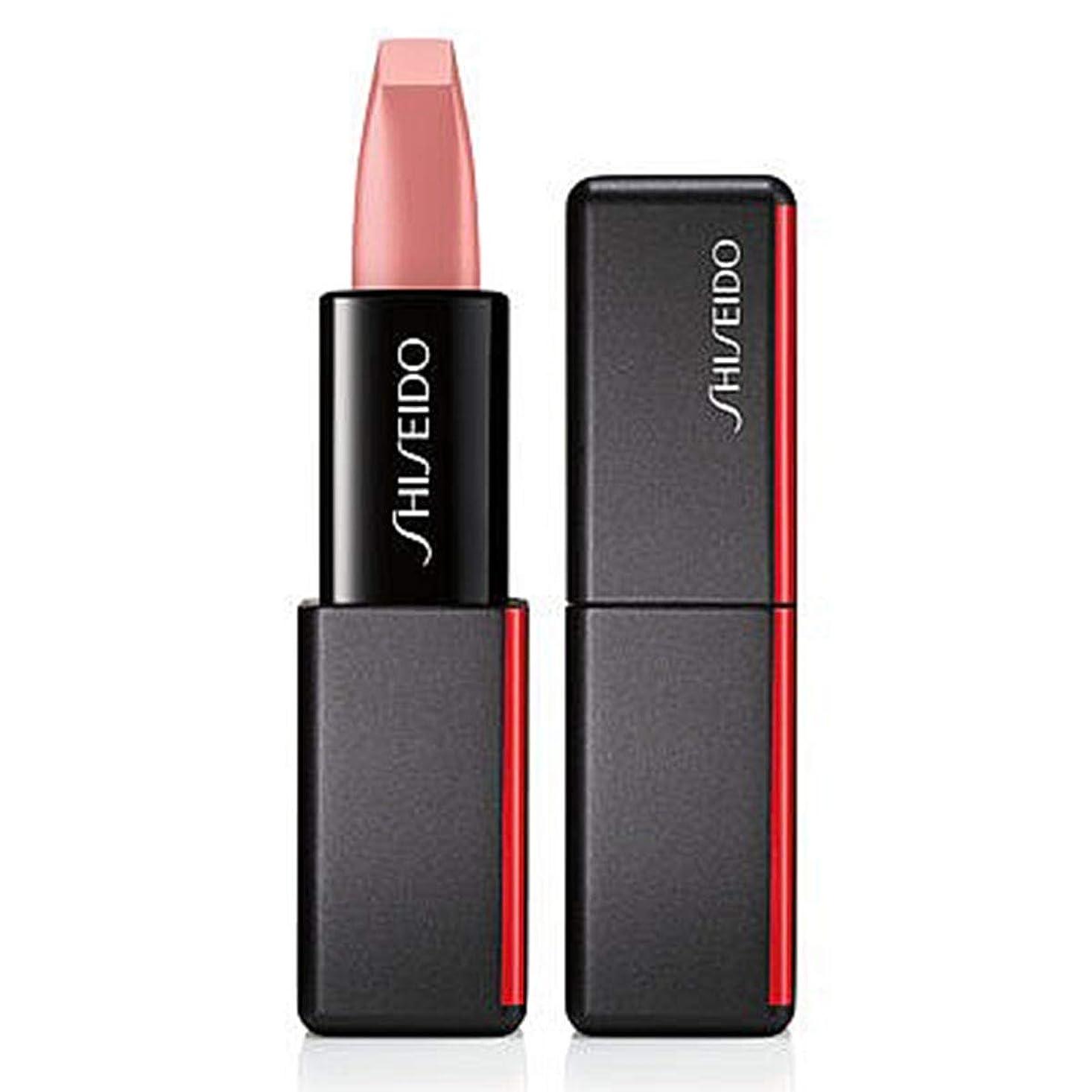 妻突然偽善資生堂 ModernMatte Powder Lipstick - # 501 Jazz Den (Soft Peach) 4g/0.14oz並行輸入品