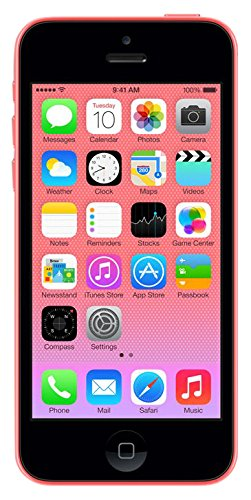 Apple 16 GB iPhone 5C Sim Free Smartphone - Pink (Generalüberholt)