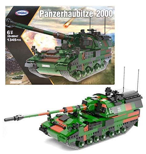 Xingbao 06047 - Bundeswehr Panzerhaubitze 2000 (1345 Teile)