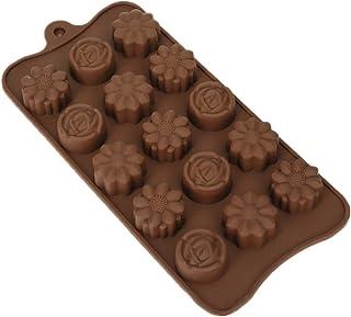 probeninmappx Molde de Silicona con Forma de Flores para decoración de Tartas, Fondant, Chocolate