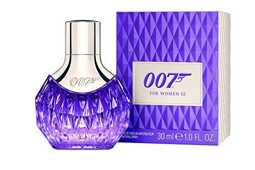 James Bond 007 for Women – Eau de Parfum Frauen Natural Spray III – Orientalisch wohlriechender Damenduft für atemberaubend sinnliche Auftritte – 1er Pack (1 x 30ml)