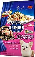 (まとめ買い)日本ペットフード コンボ ドッグ 超小型犬 角切りささみ・野菜ブレンド 820g 【×5】