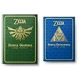 ゼルダの伝説 30周年記念書籍 THE LEGEND OF ZELDA HYRULE GRAPHICS :ゼルダの伝説 ハイラルグラフィックス 単行本 第1‐2集セット