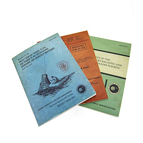 The Coop Nasa Vintage Documents Softcover Journals - Set of 3 - Not Machine...