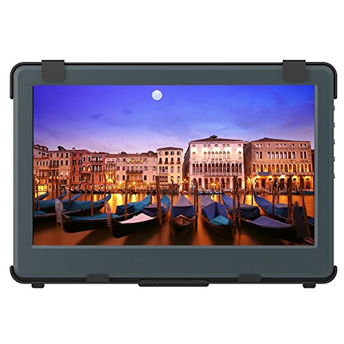 GeChic 1102H 11.6 inch FHD 1080p Built-in Battery Portable Monitor with HDMI & VGA Video inputs, USB Powered, Plug&Play, Ultralight and Slim, Built-in Speakers, Rear Docking