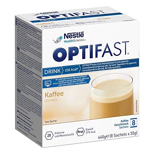 OPTIFAST home Drink Kaffee Pulver in Sachets, 8 St. Beutel