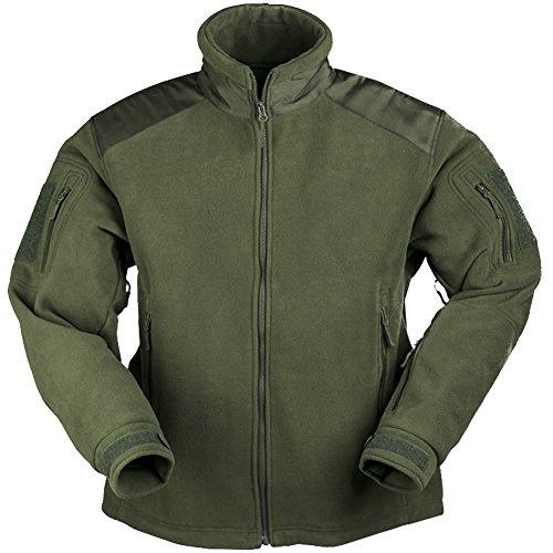 Mil-Tec Delta Jacket Fleece Oliv Gr.S