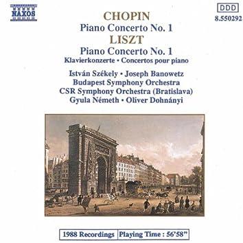 CHOPIN: Piano Concerto No. 1 / LISZT: Piano Concerto No. 1
