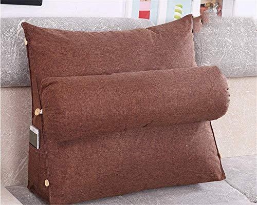 Almohadas de lectura Lectura almohada almohada almohada cuña cojín respaldo cuña cuña almohada cintura almohada sofá silla de oficina lectura almohada almohada con rol de cuello tv pad Cabeceros de ca