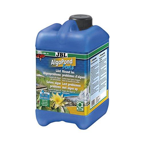 JBL Algo Pond Forte 27407 Wasseraufbereiter gegen alle Algen im Gartenteich, 2,5 L