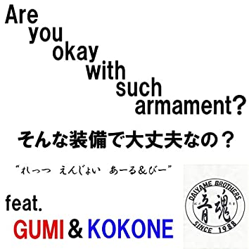 Are you okay with such armament? (feat. GUMI & kokone)