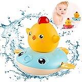 Sunshine smile Juguete de baño de Tortuga,Juguetes de baño para Nadar para niños,Juguetes de baño para bebés,Tortuga de baño para niños pequeños,Bebé Baño Natación Tortuga (Azul)