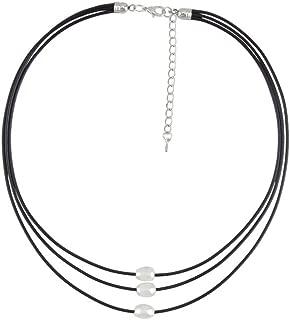 Noni B Liz Jordan Freshwater Pearl Triple Strand Necklace - Womens