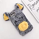 ZYQ Dark Gray Lucky Pig Protector TPU Silicone Skin Etui