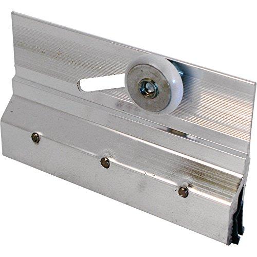 Prime-Line MP6053 - Soporte y rodillo para puerta de ducha sin marco, 2 unidades, cromados, 2 unidades