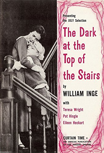 William Inge 'DARK AT THE TOP OF THE STAIRS' Eileen Heckart 1958 Theatre Book Club Flyer