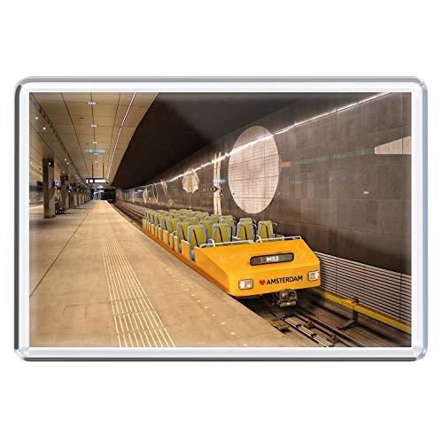 stadtecken magneten 10x7cm +++ Amsterdam motieven: Rollercoster I Holland Nederland | koelkastmagneten I Leven & Momenten grappig I Whiteboard I Souvenir I Gift I Geschenkidee
