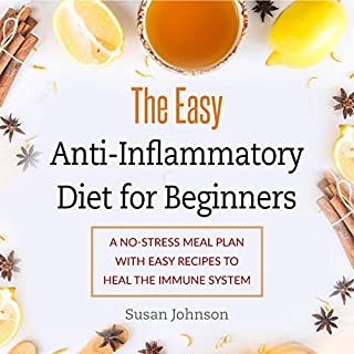 The Easy Anti-Inflammatory Diet for Beginners     A No-Stress Meal Plan with Easy Recipes to Heal the Immune System              By:                                                                                                                                 Susan Johnson                               Narrated by:                                                                                                                                 Kip Ferguson                      Length: 3 hrs and 4 mins     100 ratings     Overall 5.0