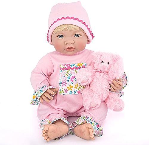 Reborn Baby Puppen Handgemachte Lebensechte Realistische Silikon Vinyl Baby Puppe Weiße Simulation 13 8 Zoll 35cm Augen  nen Kinder Lieblings Geschenk