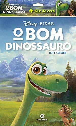 O Bom Dinossauro - Ler e colorir com Giz