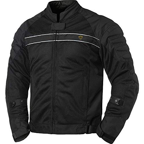 GDM ALPHA Armored Motorcycle Jacket - All Season (LARGE)