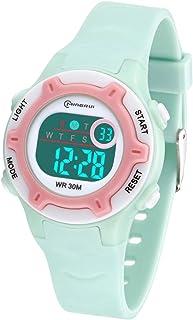 Kids Digital Watch, Waterproof Boys Watch Girls Watch with Time, Date, Week, Backlight, Warning, Stopwatch Digital Wrist Watch for Children Over 3 Years Old