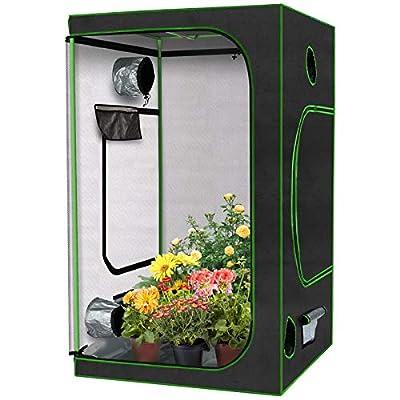 KINGSO Grow Tent 4'x4' Indoor Plant Gro...