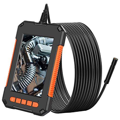 """Industrielles Endoskop 4,3\""""IPS-Bildschirm 1080p HD-Endoskop-Inspektionskamera IP67 wasserdichte halbstarre Schlangenkamera,2mm"""
