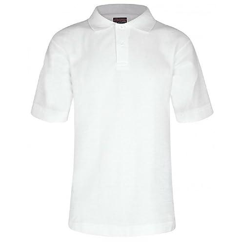 52803ce32 Mischief Age 2-15 School Plain Polo Shirt Short Sleeve 15 Colours Childrens Boys  Polo