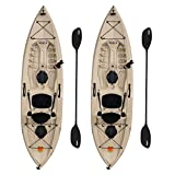 Lifetime 90806 Tamarack Angler 100 Fishing Kayak - 2 Pack...